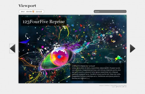 Viewport Wordpres Theme