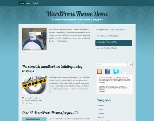 SimplyWP skórka do WordPress