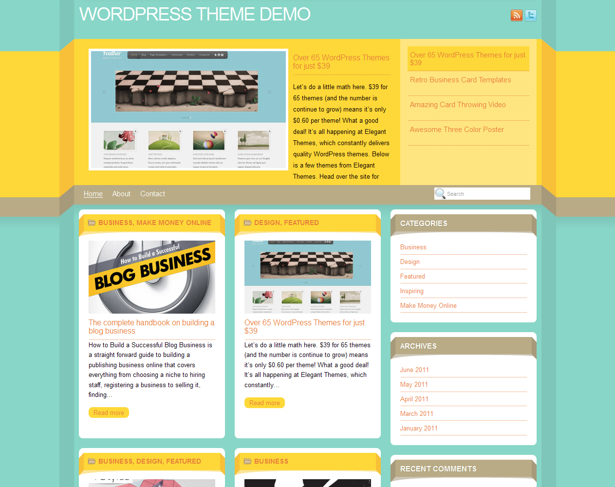 Dimenzion WordPress Theme