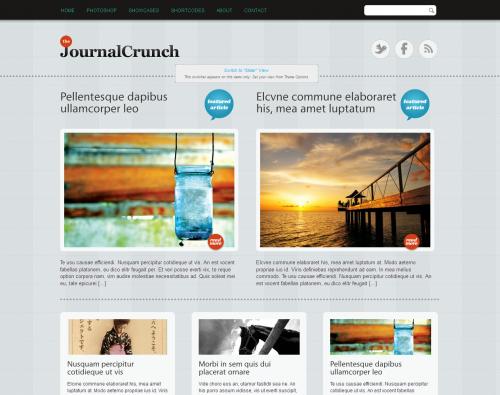 Journal Crunch WordPress Theme