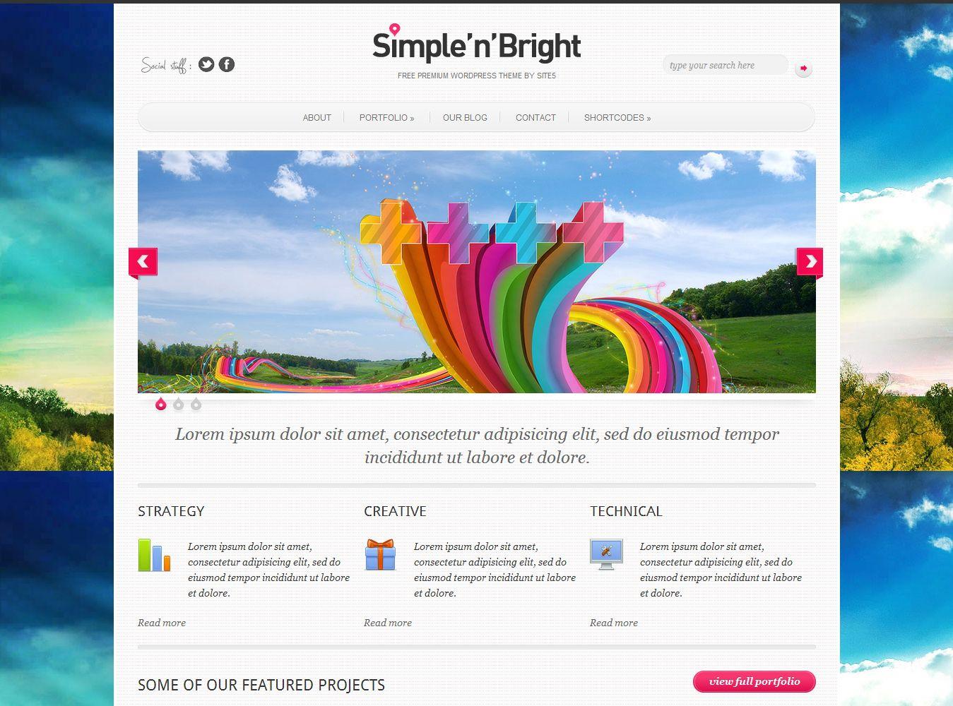 SimplenBright Theme