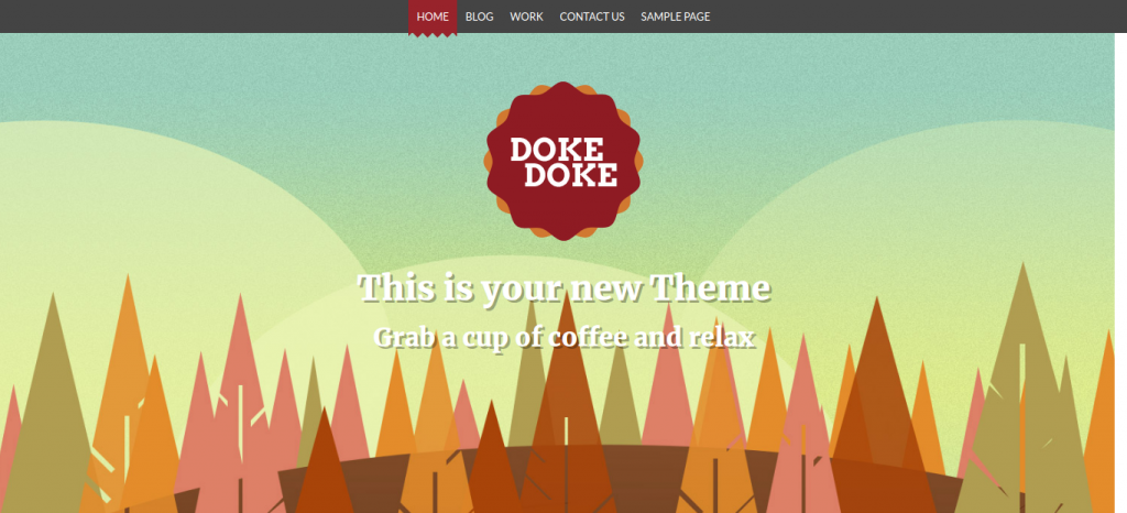 Doke Doke WordPress Skin